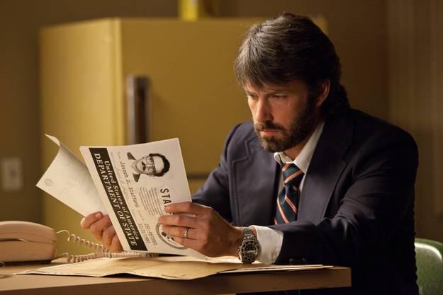 Am Samstag, 17. August: Der Polit-Thriller Argo mit Regisseur Ben Affleck in der Hauptrolle.
