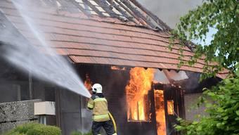 Grossbrand in Lüterkofen
