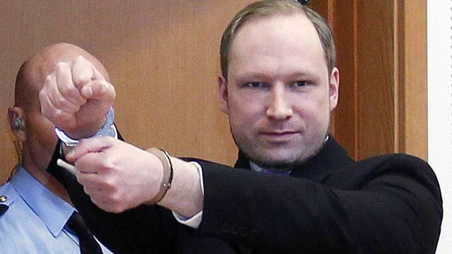 Der Attentäter von Oslo, Anders Behring Breivik (Archiv)