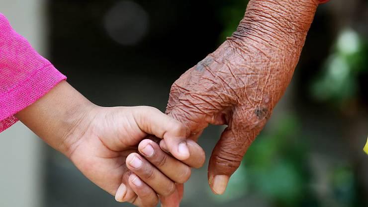 Sind die Lebensumstände hart, sind Ältere genauso risikofreudig wie Junge. (Archiv)
