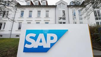 Der deutsche Software-Konzern SAP muss bei einigen seiner Produkte nachbessern, weil die Cybersicherheit nicht hundertprozentig erfüllt ist. (Archivbild)