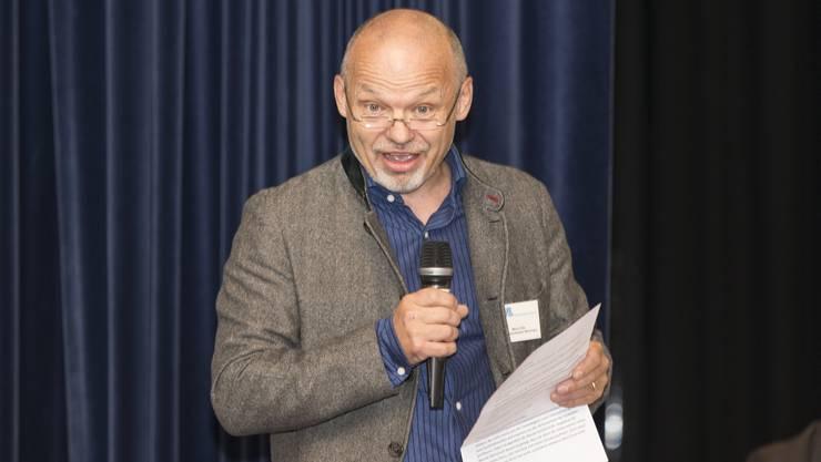 Stellt die Gemeindeversammlung infrage: Der Weininger Gemeindepräsident Mario Okle (parteilos). (Archiv)