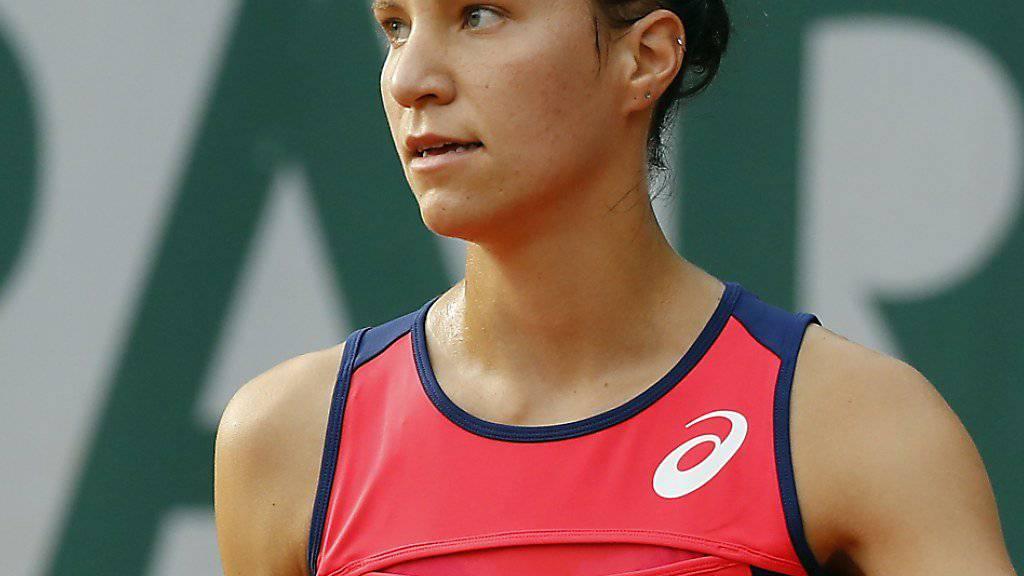 Wieder im Halbfinal: Viktorija Golubic überrascht in Linz erneut
