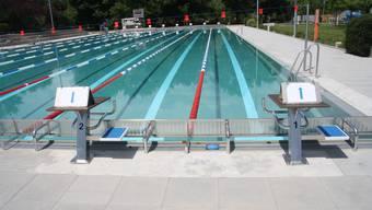 Auch die Badi Solothurn öffnet am Samstag unter den üblichen Schutzauflagen ihre Pforten.
