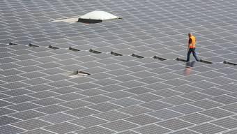 Die Freiflächen-Solaranlage entsteht in der Nähe der Stadt Murcia im Südosten Spaniens. (Symbolbild)