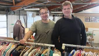 «Wir möchten die Sachen nicht horten, sondern verkaufen»: Christoph Siegenthaler (l.) und Axel Kerll.