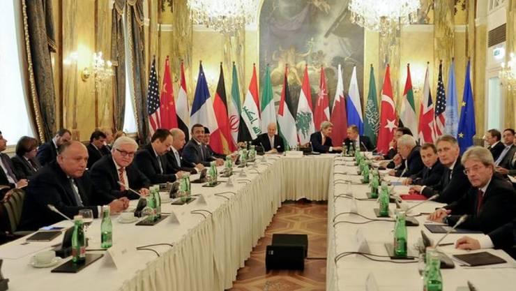 In Wien haben die Beratungen der Aussenminister zu Syrien begonnen.
