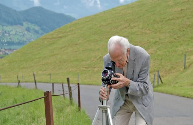 Aus dem Film «Karambolage - die Welt des Arnold Odermatt», Regie: Gitta Gsell (2013)