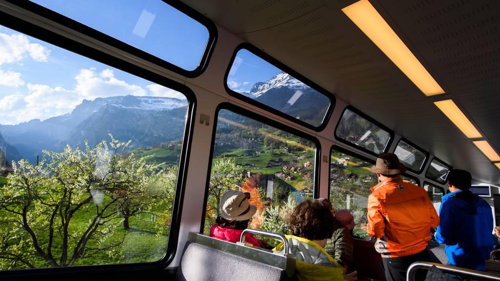 Historischer Verlust bei Jungfraubahnen