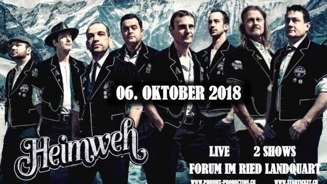 Heimweh mit zwei Konzerten in Landquart