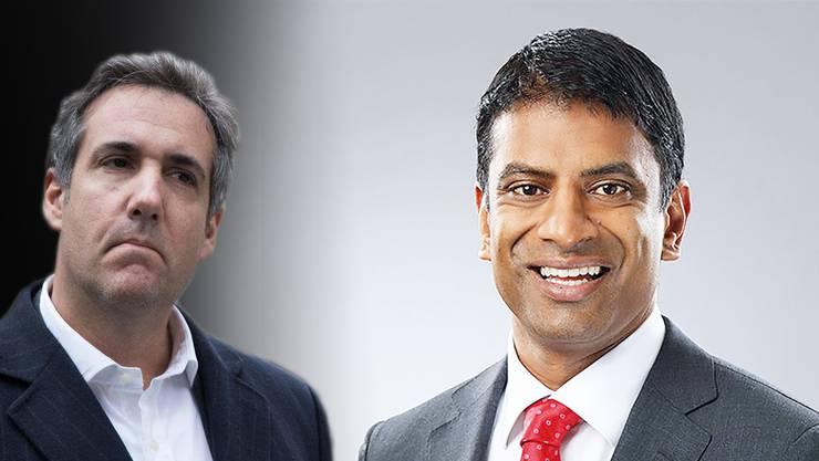 Obwohl der neue Novartis-Chef Vas Narasimhan (r.) nichts mit der Abmachung zu tun haben soll, ist die Affäre für ihn und den Konzern trotzdem peinlich.