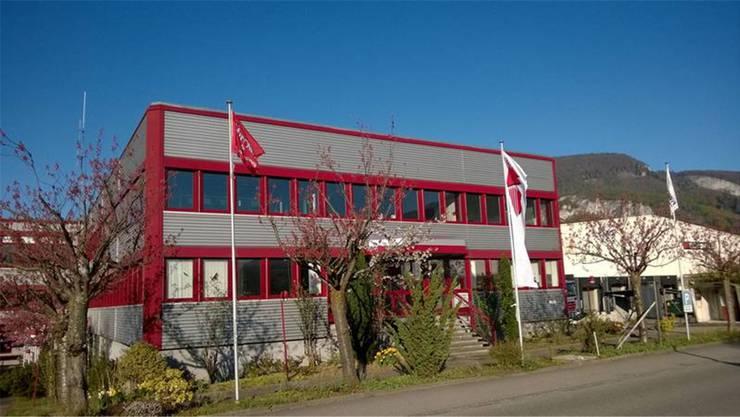 Neuer Sitz der Firma WS-Skyworker in Oensingen. Früher war hier die Selecta AG untergebracht.