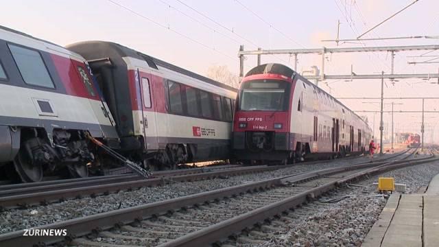 Lokführer hat beim Zugunglück Rafz Rotlicht missachtet