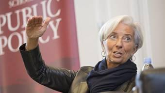 Christine Lagarde: einer zweiten Amtszeit als IWF-Chefin steht nichts im Wege. (Archiv)