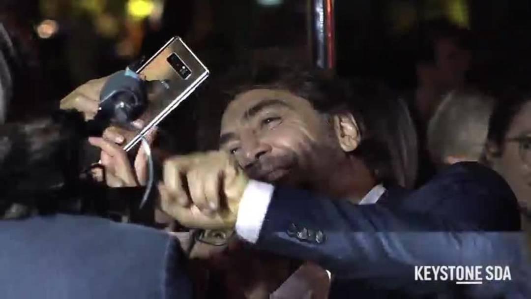 Javier Bardem mit besonderer Botschaft in Zürich