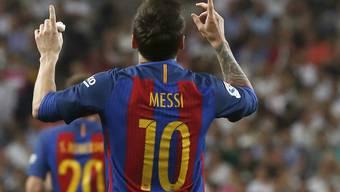 Lionel Messi erzielte sein 500. Tor für Barcelona