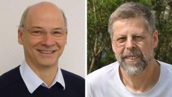Roland Recher und Meinrad Reichlin.