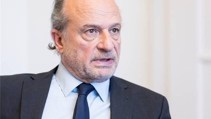 Zürichs Sportminister Filippo Leutenegger spricht über den Zustand des Sports in seiner Stadt.