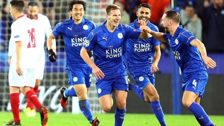 Leicester City hat zum Siegen zurück gefunden. Wird das auch gegen Atletico Madrid so weitergehen?