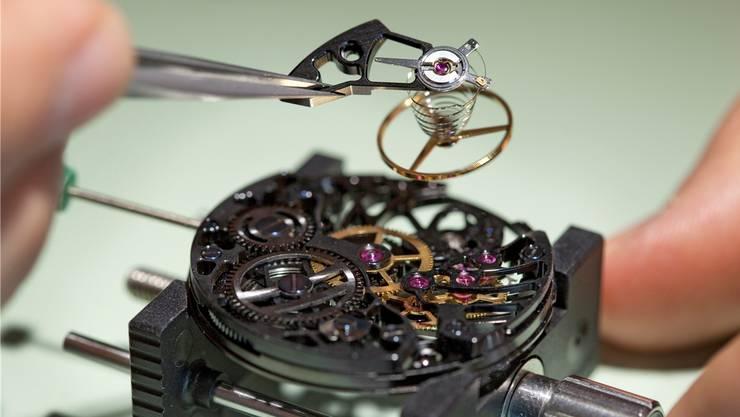Die Exportwarengruppe «Präzisionsinstrumente, Uhren und Bijouterie» performte im August am besten.