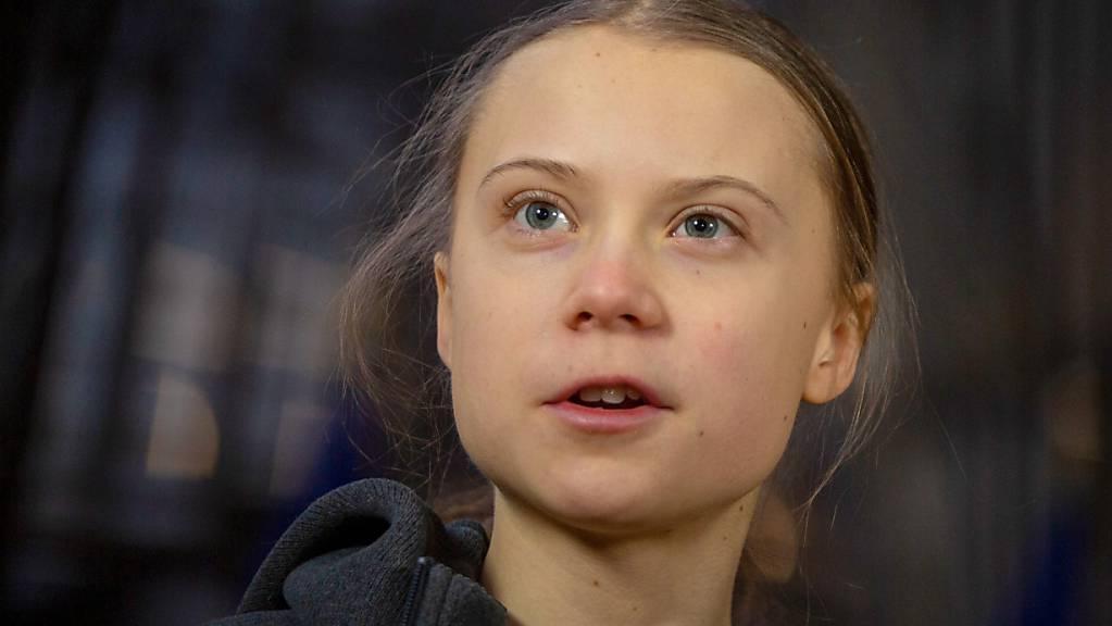 ARCHIV - Greta Thunberg äußert sich sehr kritisch über den Klimagipfel «One Planet Summit». Foto: Virginia Mayo/AP/dpa