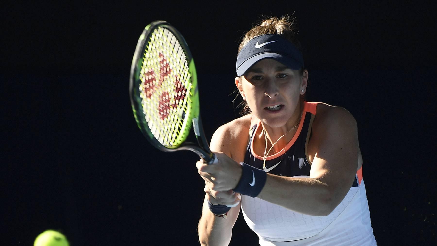 Bencic kam nicht an der Belgierin Elise Martens vorbei.