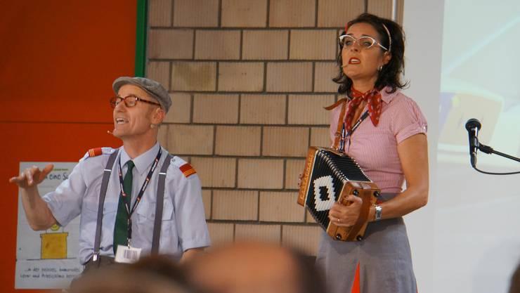 """Daisy und Kurt der """"Fly Emmital"""""""