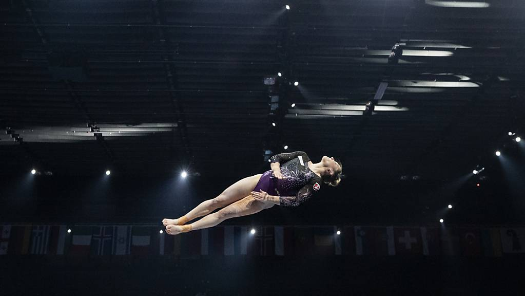 Giulia Steingruber riskierte alles und holte am Sprung ihr viertes EM-Gold nach 2013, 2014 und 2016