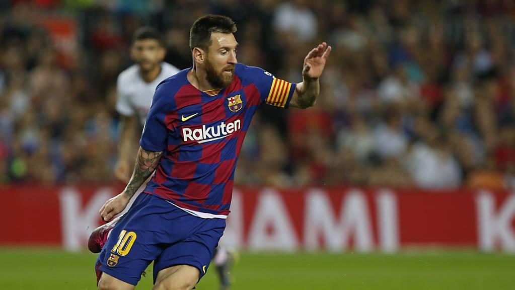 Lionel Messi feierte in Barcelona sein Zirkus-Debüt