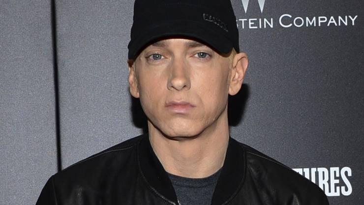"""Der US-Rapper Eminem hat bereits drei Songs auf Youtube mit über einer Milliarde Klicks. """"Rap God"""" aus dem Jahr 2013 ist der jüngste dieser Erfolge. (Archivbild)"""