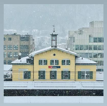 Der Badener Bahnhof am Dienstag, aufgenommen von Nikolaos Orphanidis.