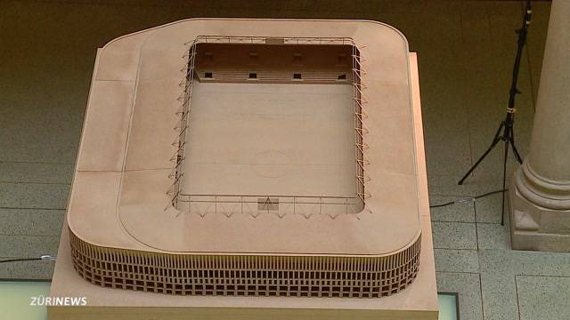 Bald neues Fussballstadion beim Hardturm?