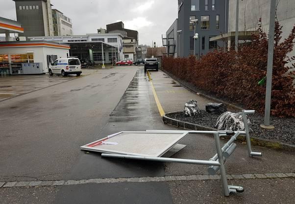 Im Aargau hat der Sturm Burglind Spuren hinterlassen.