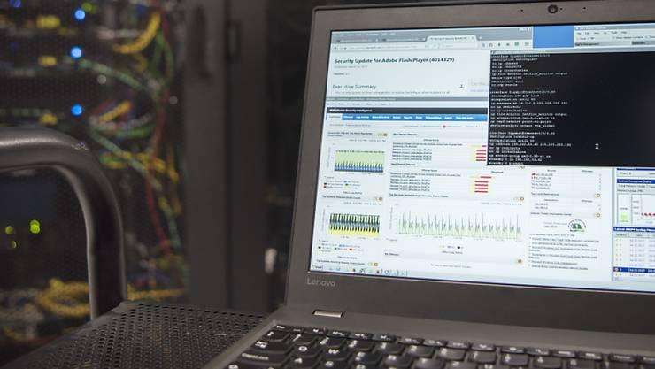 Ein neu zu schaffendes Kompetenzzentrum soll möglichst rasch seine Tätigkeit als nationale Anlaufstelle für Fragen zu Cyber-Risiken aufnehmen. (Archivbild)