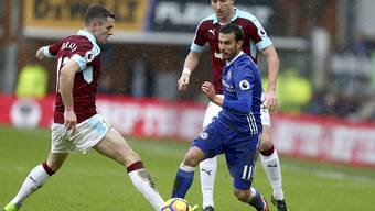 Der Spanier Pedro Rodriguez brachte Chelsea gegen Burnley früh in Führung