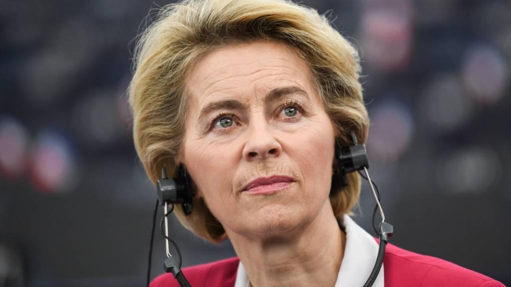 EU-Kommissionspräsidentin Ursula von der Leyen hat vor einem harten Bruch mit Grossbritannien gewarnt. (Archivbild)