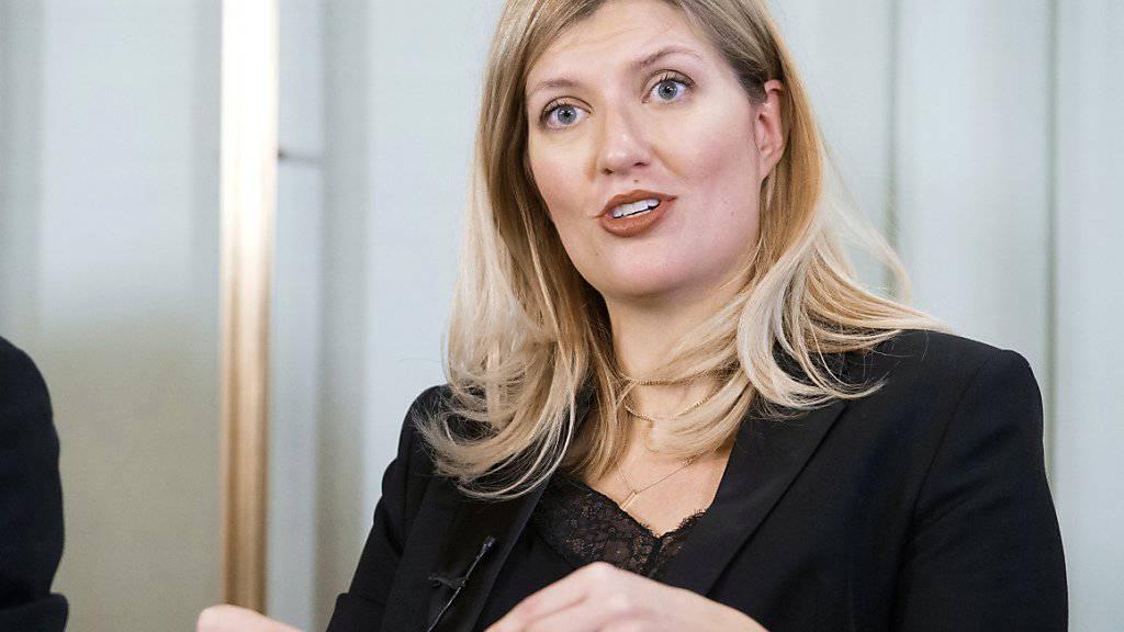 Für Beatrice Fihn, Direktorin der Organisation Ican, hat der US-Rückzug aus dem INF-Vertrag den Startschuss für einen neuen Kalten Krieg gegeben. Ican war 2017 mit dem Friedensnobelpreis ausgezeichnet worden. (Archivbild)