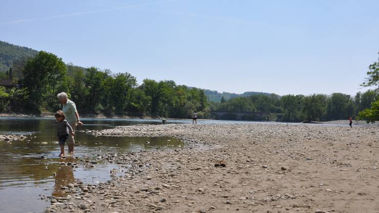 Die Gewässer im Aargau trocknen immer mehr aus.