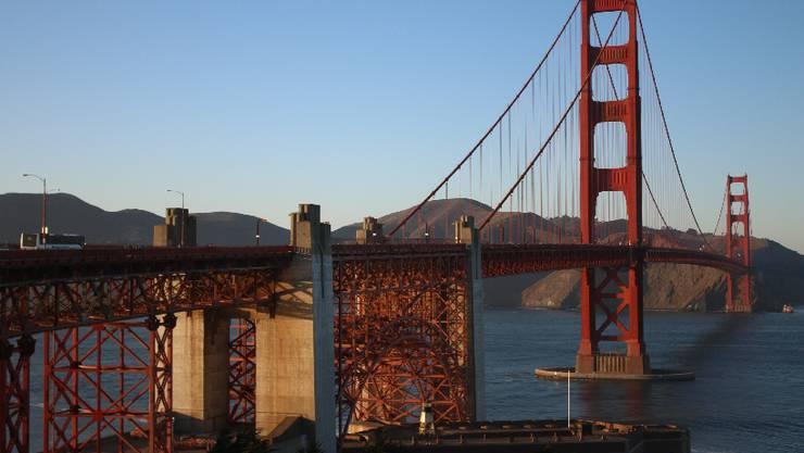 Eine Woche in San Francisco. Als Erstes statte ich der Golden Gate Bridge einen Besuch ab
