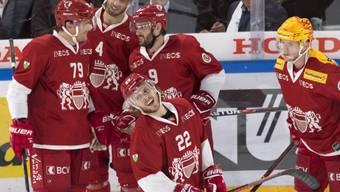 2. Sieg im 3. Spiel: Die Lausanner Spieler dürfen mit dem Saisonstart zufrieden sein