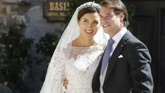 Prinz Félix von Luxemburg und seine Frau Claire (Archiv)