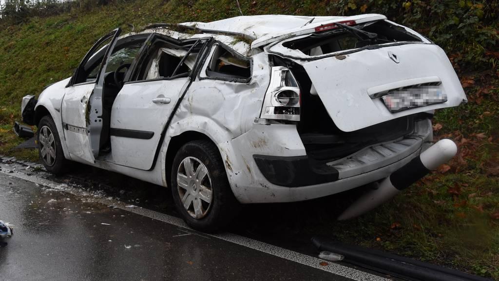 Der 27-Jährige verletzte sich beim Unfall schwer.