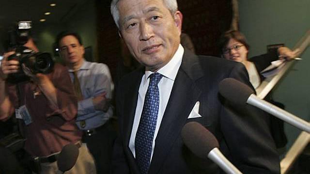 Japanischer UNO-Botschafter Yukio Takasu