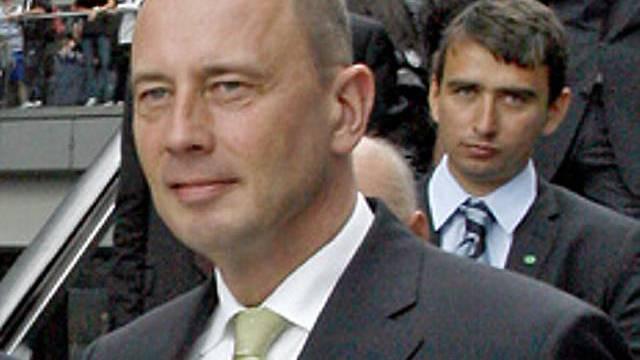 Verkehrsminister Tiefensee (Archiv)