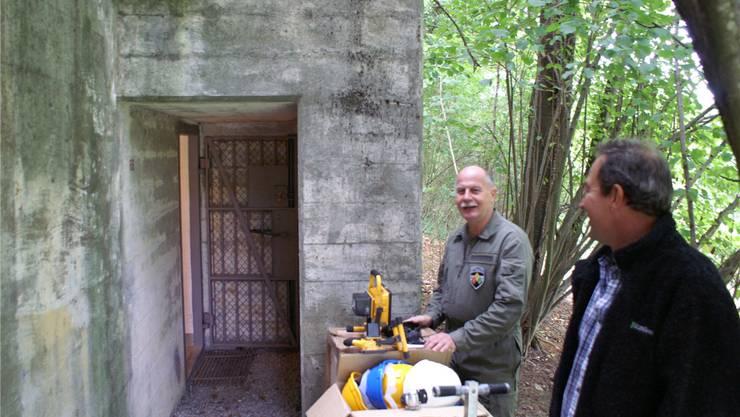 Auf Projektleiter Fritz Gehring wartet eine grosse Aufgabe.