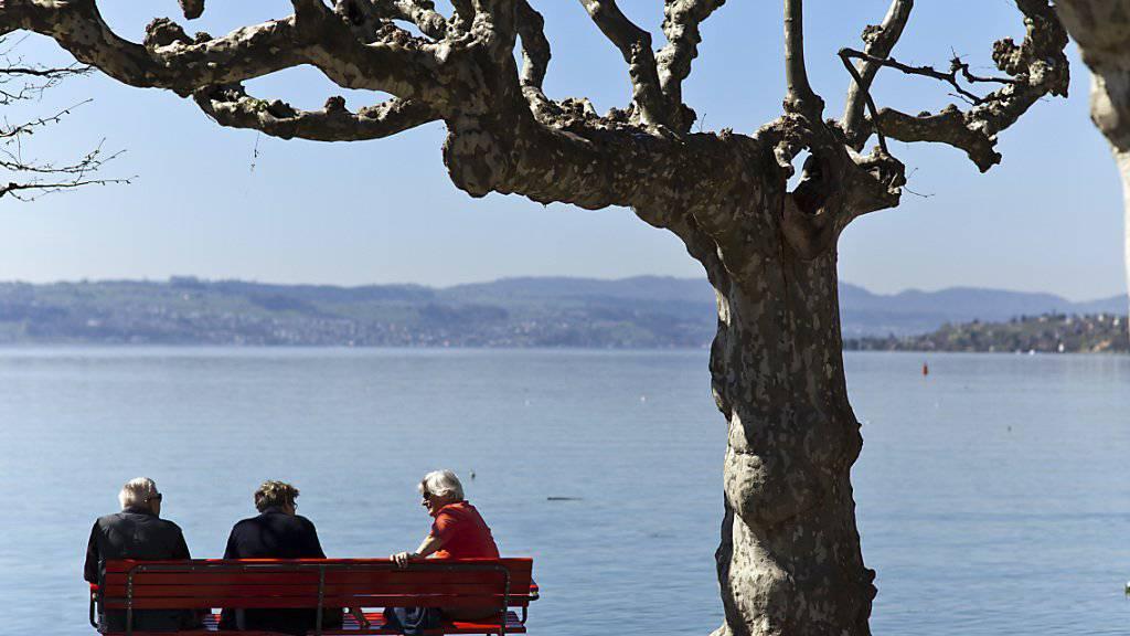 Schweizerinnen und Schweizer können sich in Europa der höchsten Lebenserwartung erfreuen. Schweizweit am längsten leben im Schnitt die Tessiner. (Symbolbild)