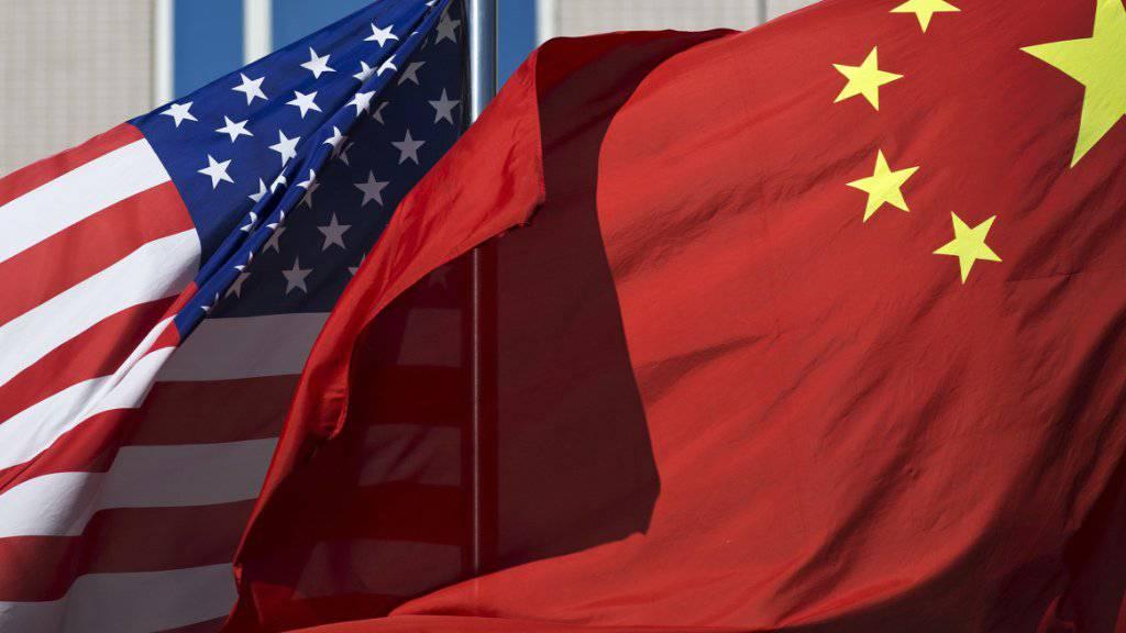 Präsident Donald Trump eskaliert den Handelsstreit mit China. (Foto: Andy Wong / AP Archiv)