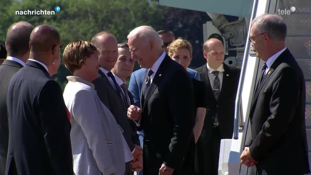 Putin und Biden vor Treffen in Genf