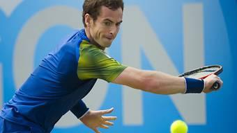 Andy Murray bezwang in Queens den Titelverteidiger Martin Cilic.