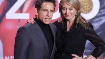 Haben nach 17 Jahren Ehe ihre Trennung bekannt gegeben: Schauspieler Ben Stiller und Ehefrau Christine Taylor. (Archivbild)